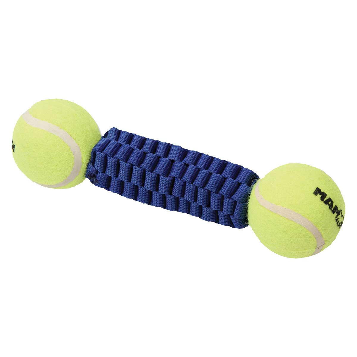 10 inch Mammoth Gnarlys with 2 Tennis Balls Dog Fetch Toy