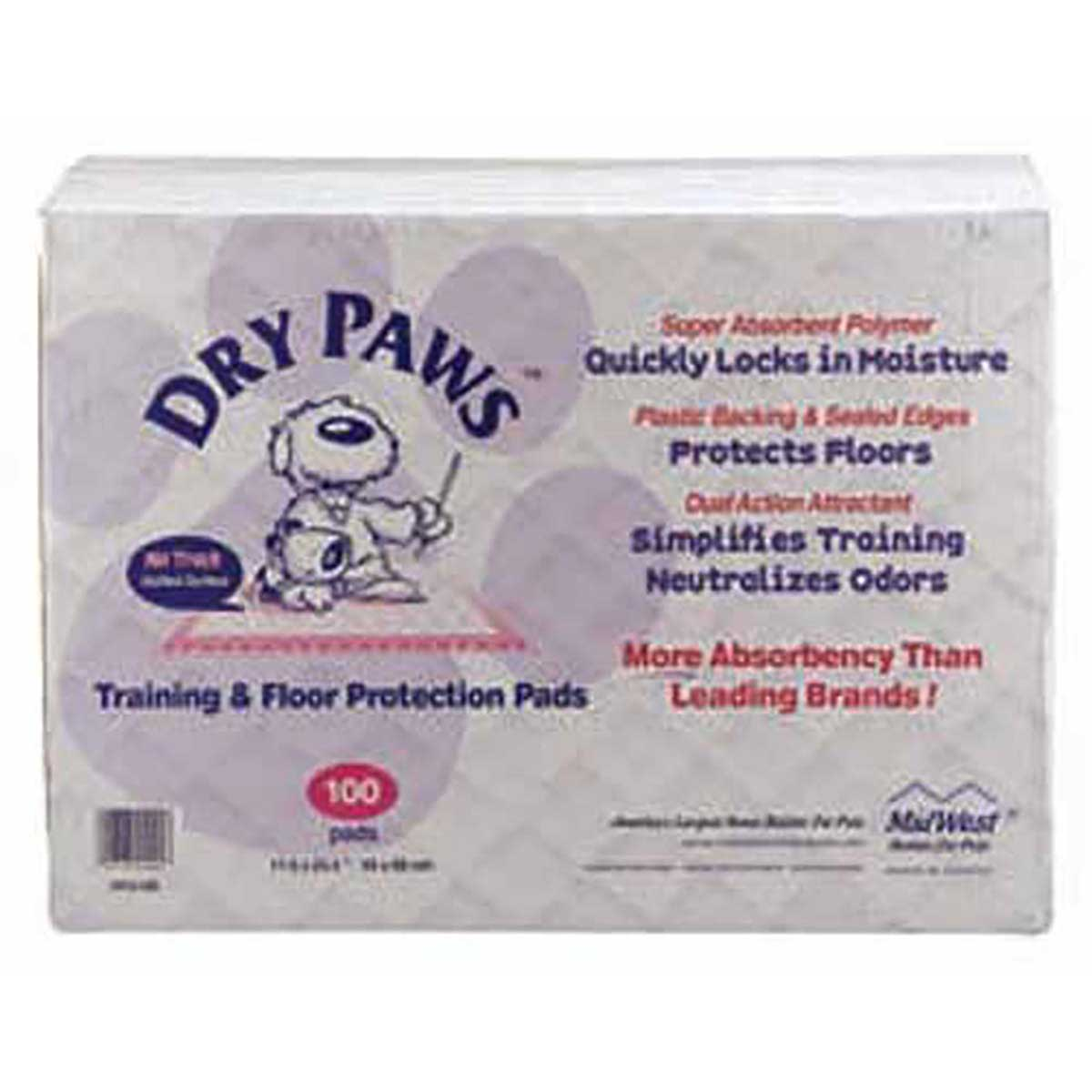 300 Pack Dry Paws Puppy Training Pads - 23 inches by 24 inches