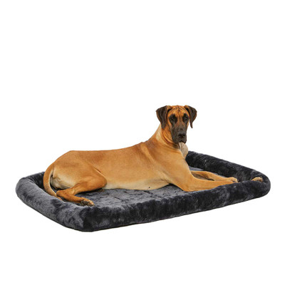 Midwest Quiet Time Bolster Pet Bed