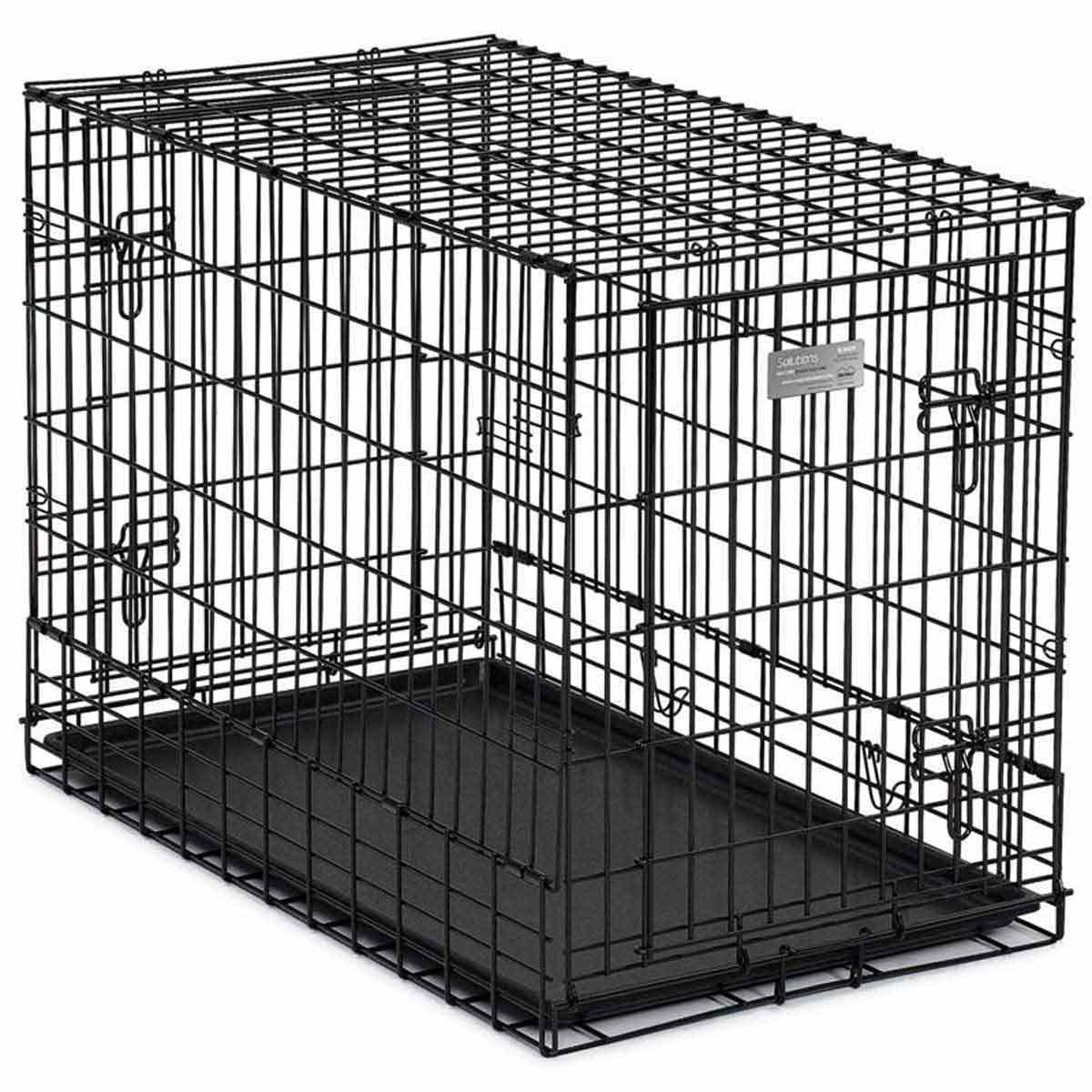 Midwest Solutions SUV Double Door Crate for Dogs - 36 by 21 by 26 inches