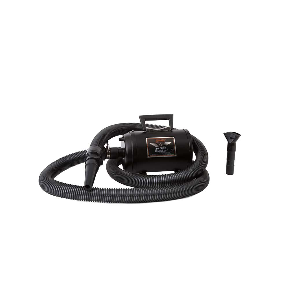 Black Metro Air Force Blaster Grooming Dryer - Variable Speed