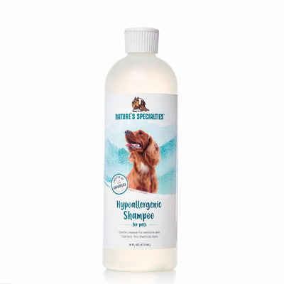 Nature's Specialties Hypoallergenic Pet Shampoo RTU 16 oz