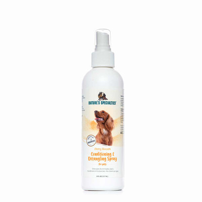Nature's Specialties Cherry Blossom Conditioning and Detangling Spray 8 oz