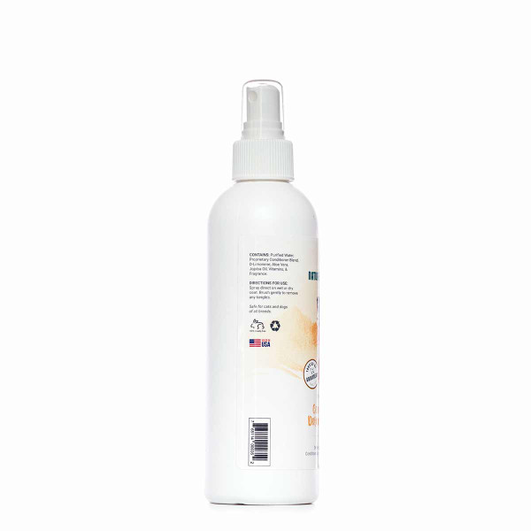 Right side of Nature's Specialties Cherry Blossom Conditioning and Detangling Spray 8 oz