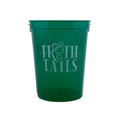 Front of Natures Specialties Frothtails Cup 16 oz