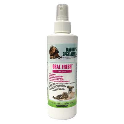 8 oz Natures Specialties Oral Fresh Dental Care for Dogs