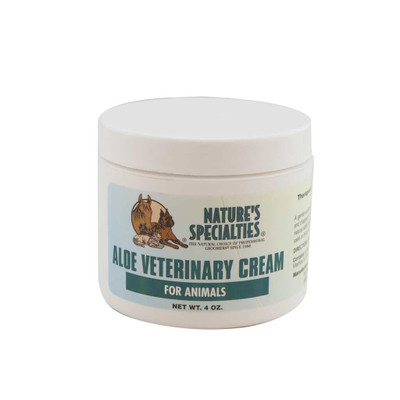 4 oz Natures Specialties Aloe Vet Cream