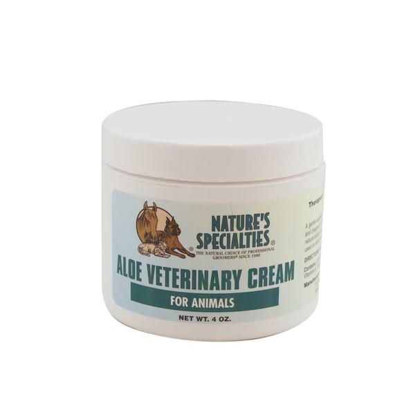 4 oz Natures Specialties Aloe Vet Cream