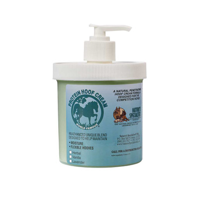 16 oz Herbal Natures Specialties Protein Hoof Cream