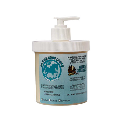 16 oz Vanilla Natures Specialties Protein Hoof Cream