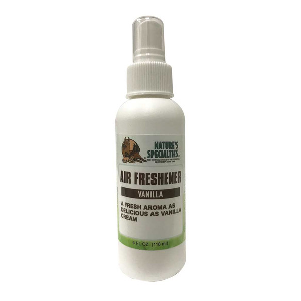 Nature's Specialties AirFresh Vanilla 4 oz Air Freshener for Grooming Shops