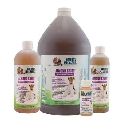 Natures Specialties Almond Crisp Shampoo for dog grooming
