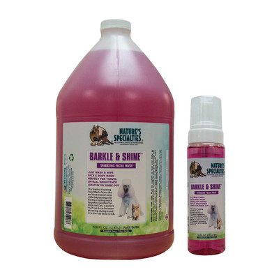 Natures Specialties Barkle and Shine Facial Wash for Pets