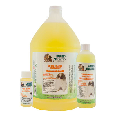 Natures Specialties Citrus Flea and Tick Pet Shampoo