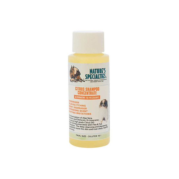 2 oz Natures Specialties Citrus Shampoo for Pets