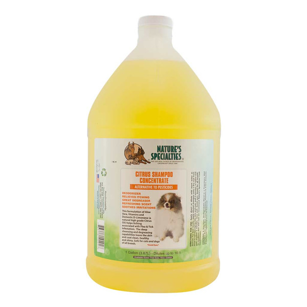 Gallon of Natures Specialties Citrus Anti Itch Shampoo for Pets