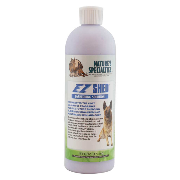 16 oz Natures Specialties EZ Shed Conditioner for Pets