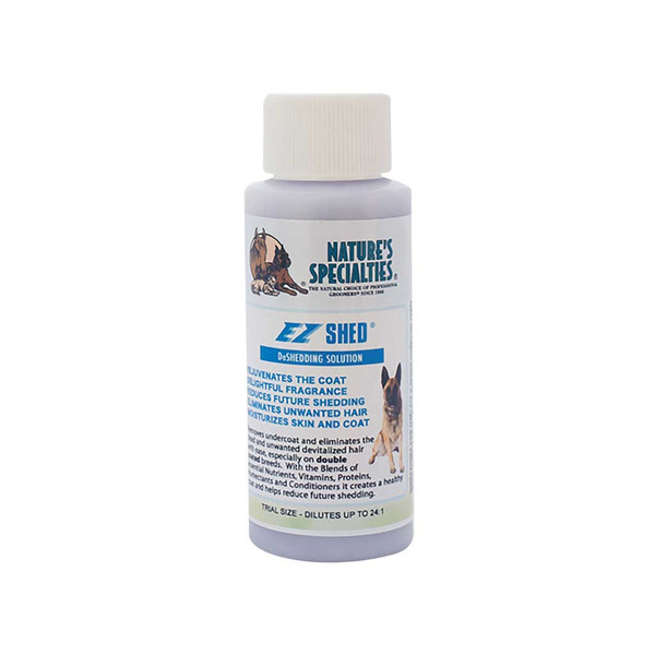 2 oz Natures Specialties EZ Shed Conditioner for Dogs