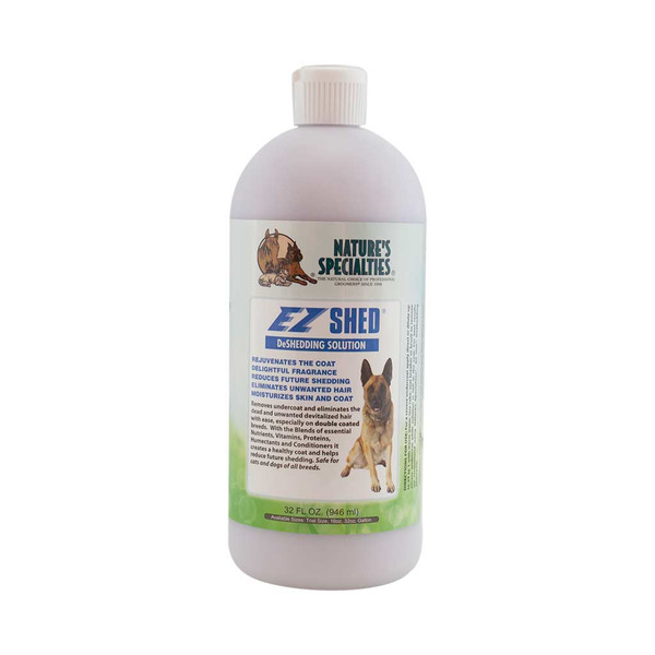 32 oz Natures Specialties EZ Shed Conditioner for Pets