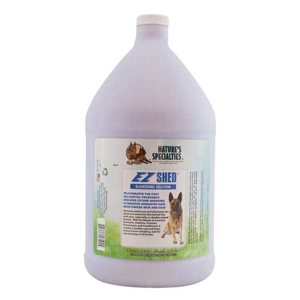 Gallon of Natures Specialties EZ Shed Conditioner