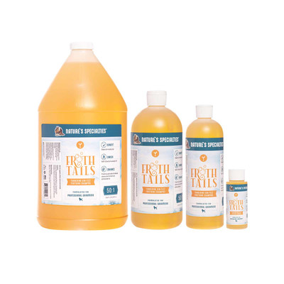 Frothtails Tangerine Gin Fizz Shampoo for frothing at Ryan's Pet Supplies