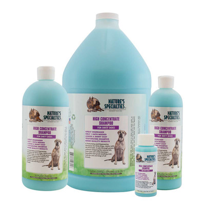 Natures Specialties High Concentrate Grooming Pet Shampoo