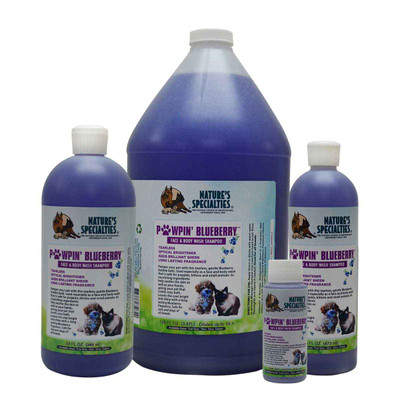 Natures Specialties Pawpin Blueberry Face/Body Wash for Dogs
