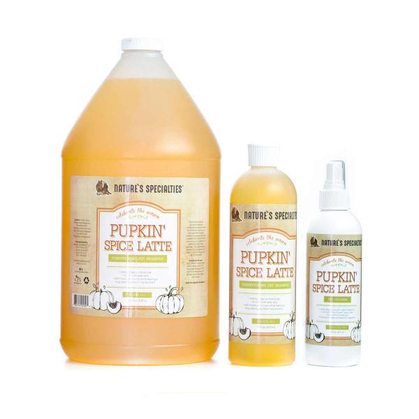Nature's Specialties Pupkin Spice Latte Pet Shampoo