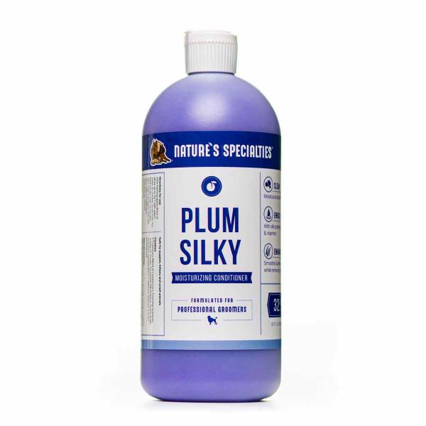 32 oz Nature's Specialties Plum Silky Pet Conditioner