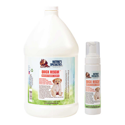 Natures Specialties Quick Rescue Foaming Wash for dogs