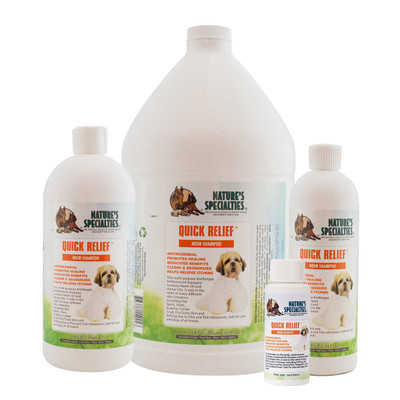 Natures Specialties Quick Relief Neem Pet Shampoo