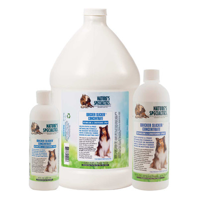 Natures Specialties Quicker Slicker Concentrated Conditioner for pets