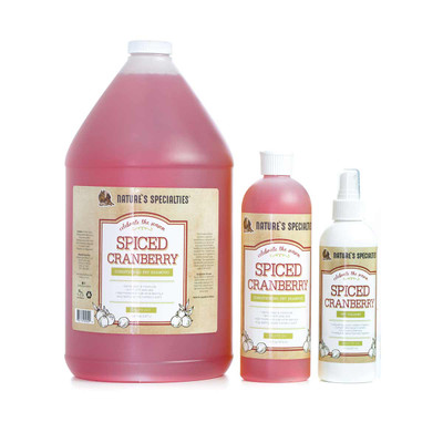 Nature's Specialties Spiced Cranberry Shampoo