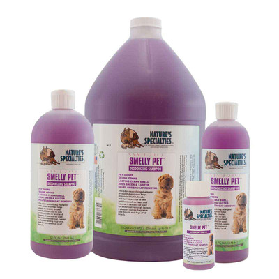 Natures Specialties Smelly Pet Shampoo for dirty dogs