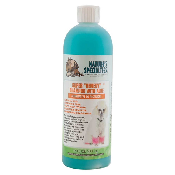 16 oz Super Remedy Shampoo for Dogs from Natures Specialties