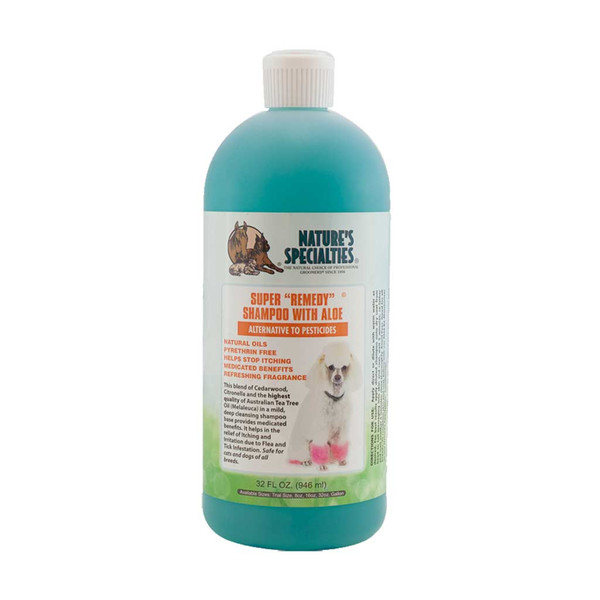 32 oz Super Remedy Shampoo for Dogs from Natures Specialties