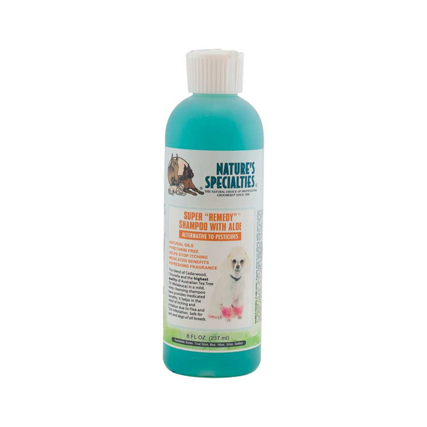 8 oz Super Remedy Shampoo for Dogs from Natures Specialties