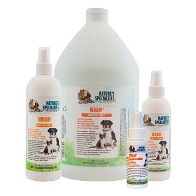 Natures Specialties WHAM Anti-Itch Spray for dogs, cats, horses