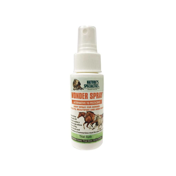 2 oz Natures Specialties Wonder Spray for Cats, Dogs, and Horses