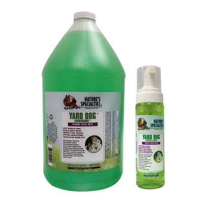 Natures Specialties Yard Dog Expressions Facial Wash for dog grooming