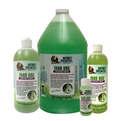 Natures Specialties Yard Dog Shampoo - smells like fresh grass and lemon