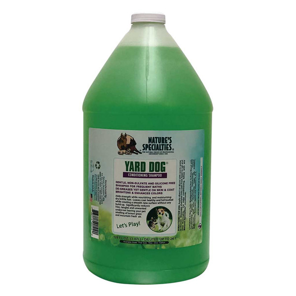 Gallon of Natures Specialties Yard Dog Shampoo