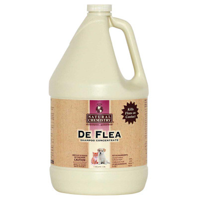 Natural Chemistry Deflea Pet Shampoo 3:1 Concentrate 1 Gallon