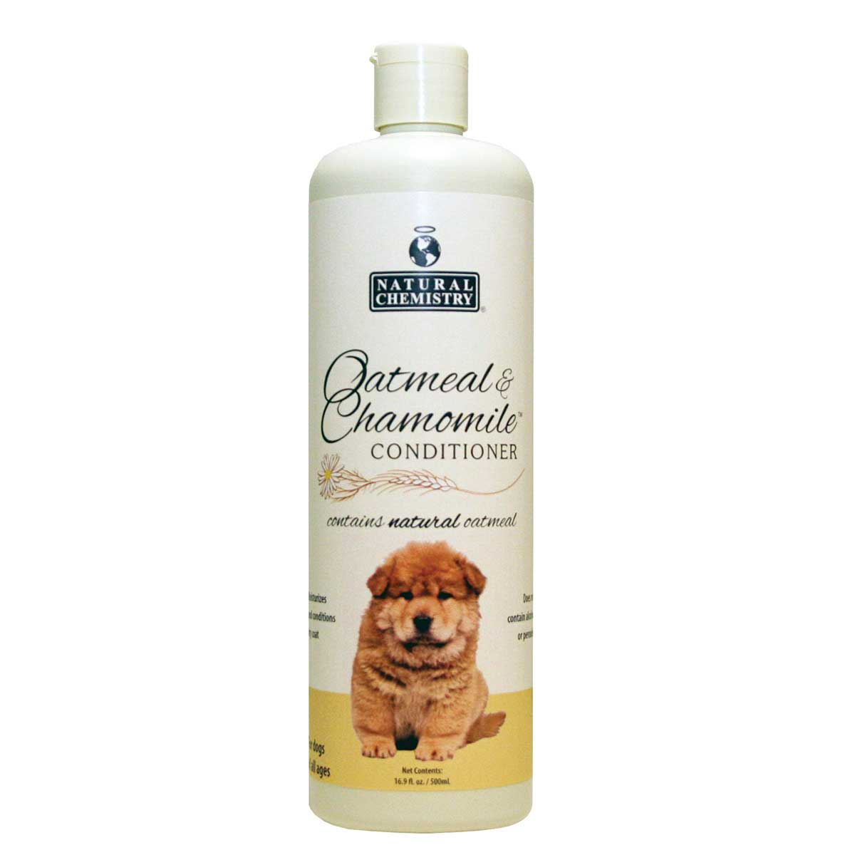 Natural Chemistry Oatmeal & Chamomile Dog Conditioner 16.9 oz