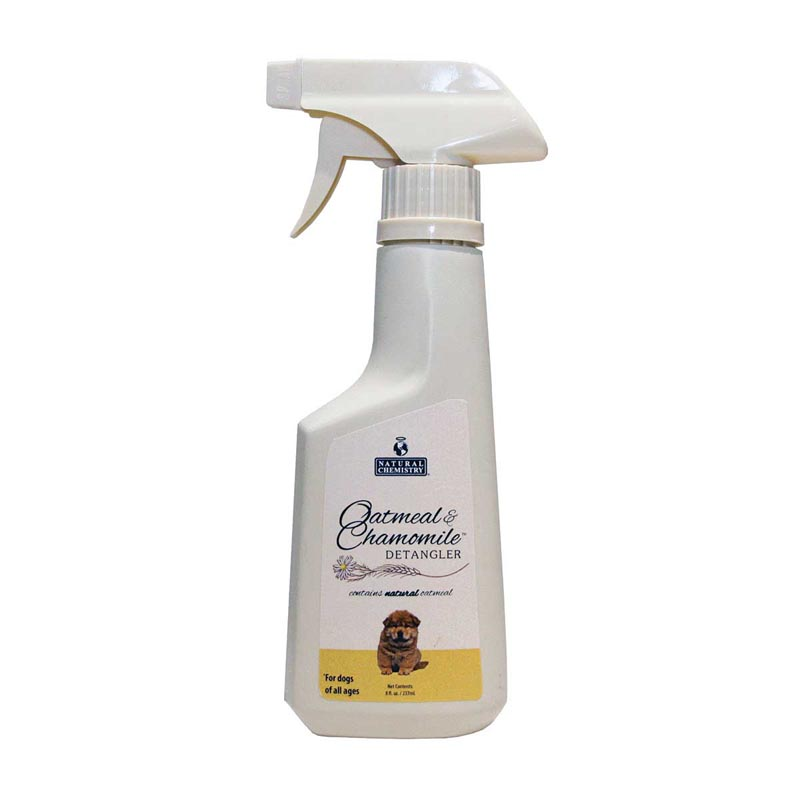 8 oz Natural Chemistry Oatmeal & Chamomile Detangler for Dogs of all Ages