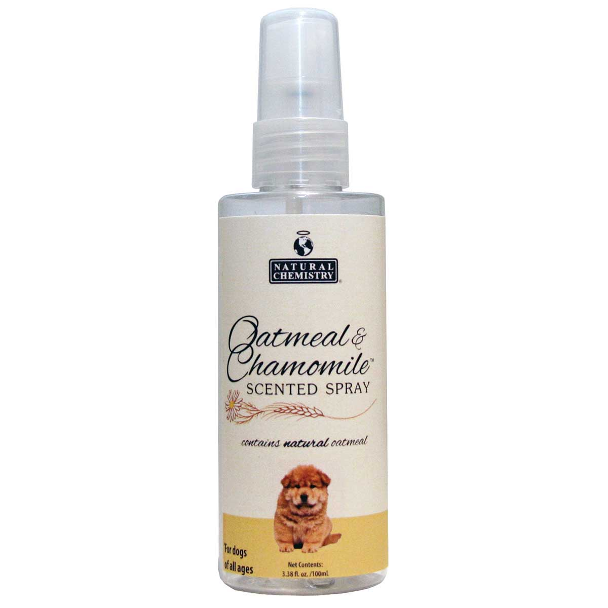 Natural Chemistry Oatmeal & Chamomile Spritzer Finishing Spray for Dogs of all Ages - 3.38 oz