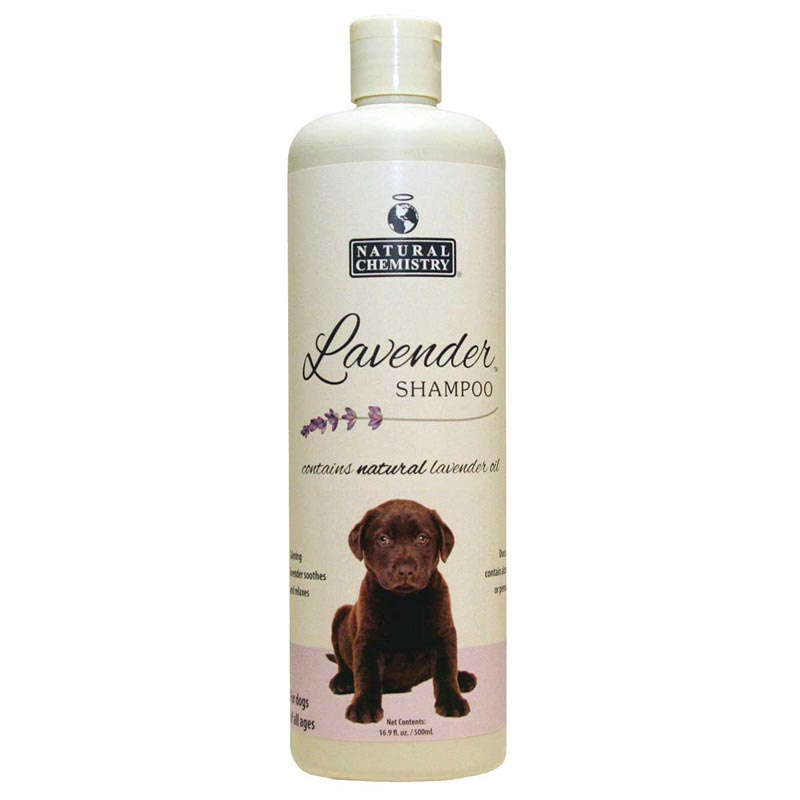 Natural Chemistry Lavender Dog Shampoo for All Ages - 16.9 oz
