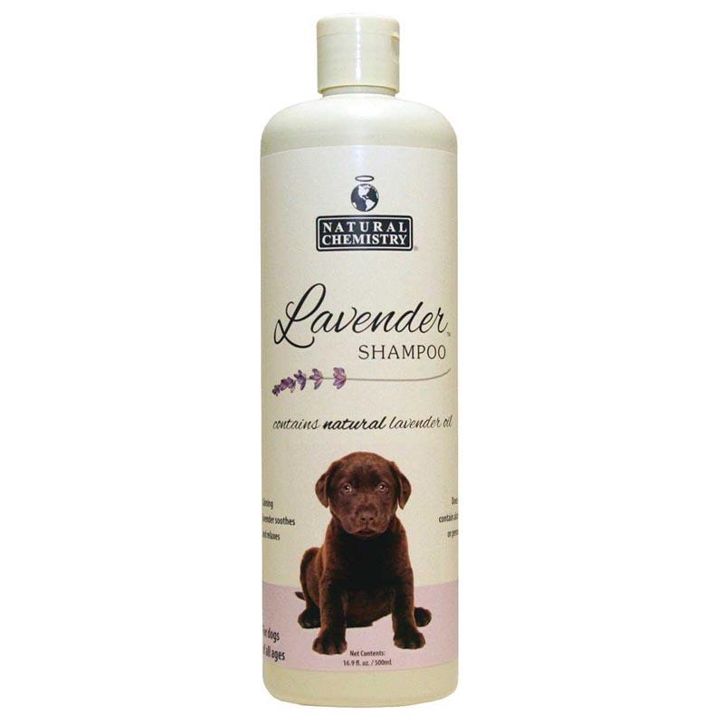 Natural Chemistry Lavender Dog Shampoo for All Ages - 16.9 oz