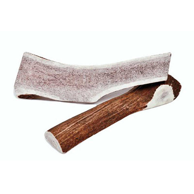 Newt's Chews Premium Sliced Elk Antler Chew for Dogs - 7-10 inches