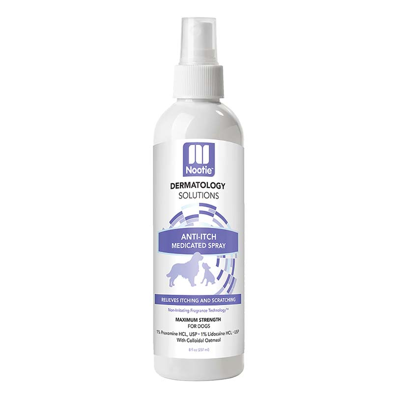 Nootie Medicated Anti-Itch Spray-Cucumber Melon 8 oz at Ryan's Pet Supplies